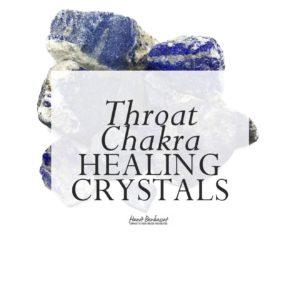 Throat Chakra Healing Crystals